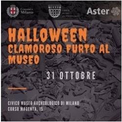 HALLOWEEN - Clamoroso furto al Museo