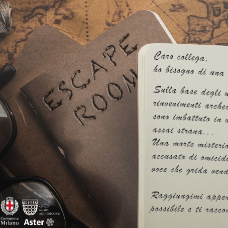 NEW!!! ESCAPE ROOM AL MUSEO!